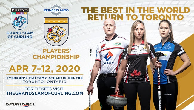 Grand Slam of Curling 2020 Event Photo