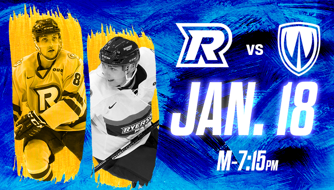 Ryerson Rams vs. Windsor Lancers