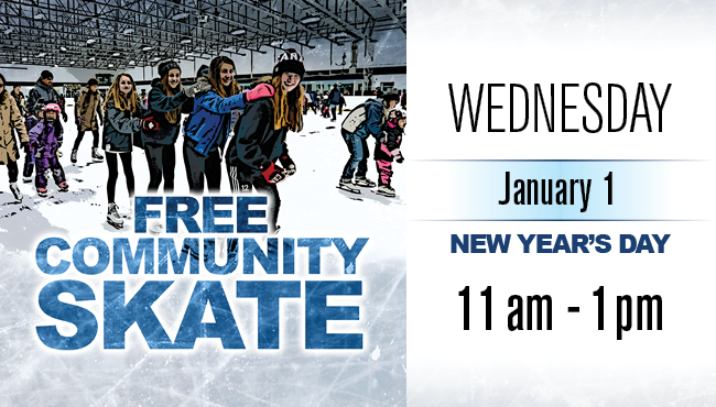 Free Community Skate New Years Day