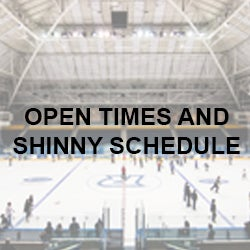 Open Times and Shinny Schedule