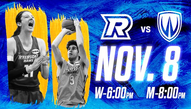 Ryerson Rams Basketball vs Windsor