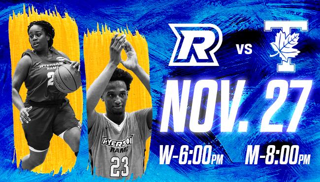 Ryerson Rams vs. Toronto Varsity Blues