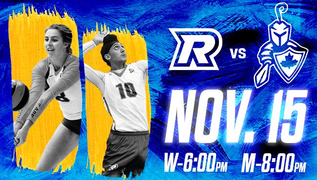 Ryerson Rams Volleyball vs. RMC Paladins